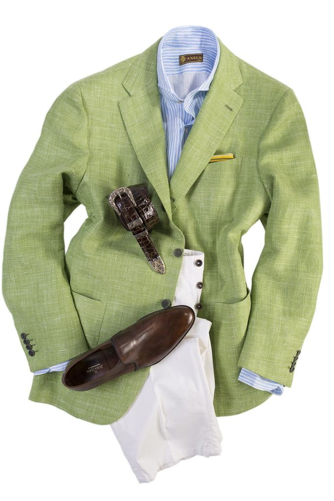 Kiton Sebastiano Sport Coat In Green - Men's Tailored Sport Coats ...