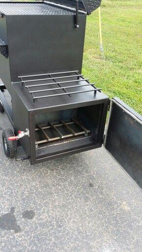 TSI -40 Reverse Flow smoker with insulated firebox #topshot #bbq #smoker