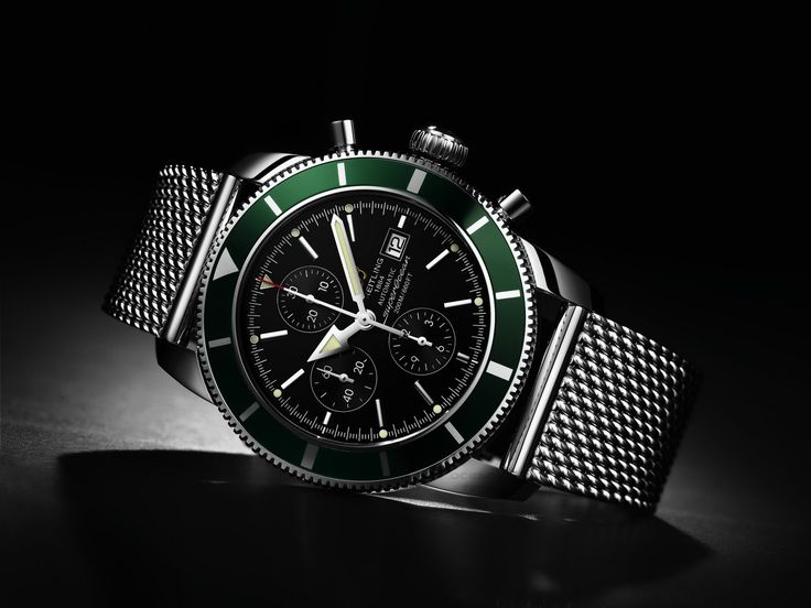 Breitling Super Ocean Heritage Chrono (green edition)