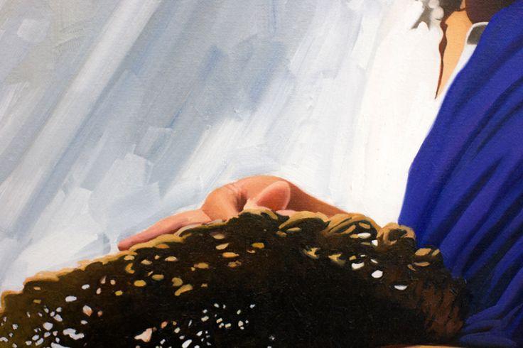 """detalle """"El vendedor de sombreros"""" by Jose Higuera"""