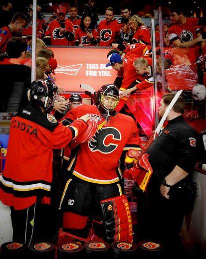 Calgary Flames G Jonas Hiller's had his share of post-season success in his ... Calgary Flames #CalgaryFlames