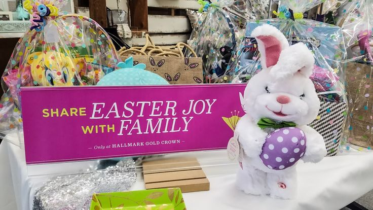 Easter Baskets!!!   Filled with Hallmark Easter plush, candy, crayons and more!!!