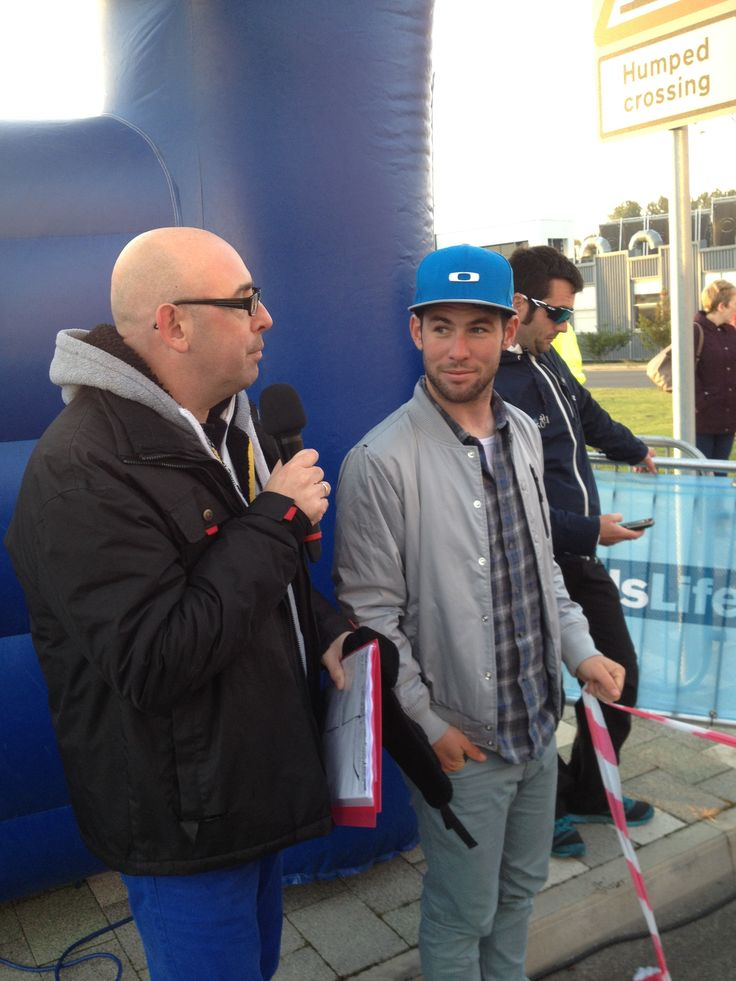 Working with Mark Cavendish on his very own charity Tour Ride