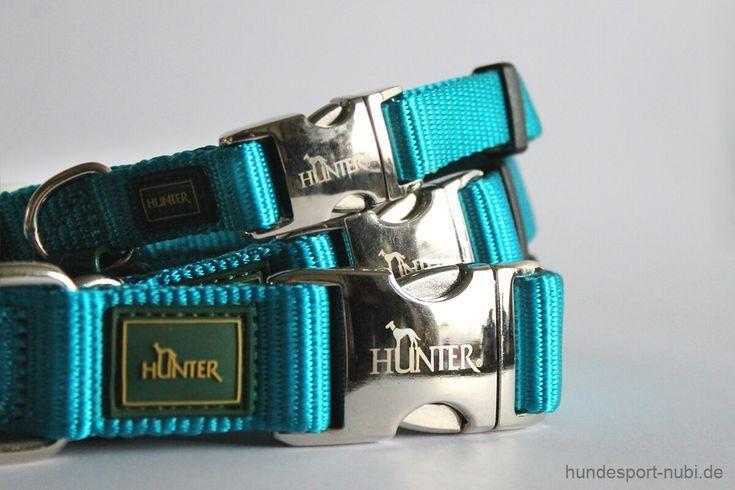 Halsband Hunter Vario Basic Alu-Strong – petrol