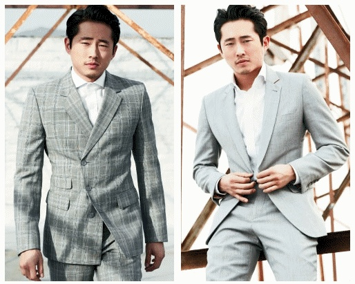 Steven Yeun - The Walking Dead .. photographed by John Russo for Out Magazine