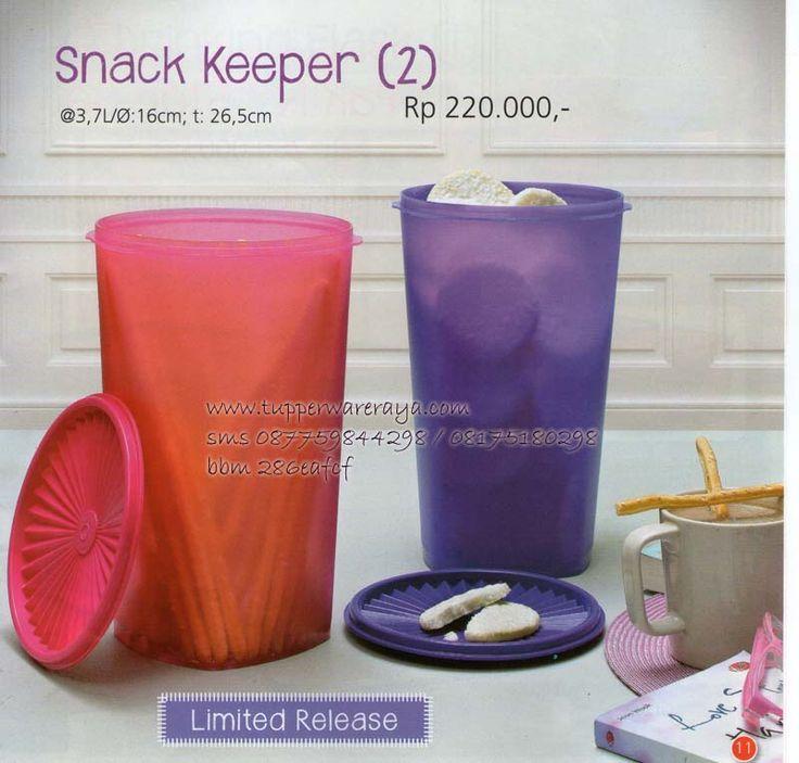 Katalog Tupperware Promo Agustus 2014 - Snack Keeper