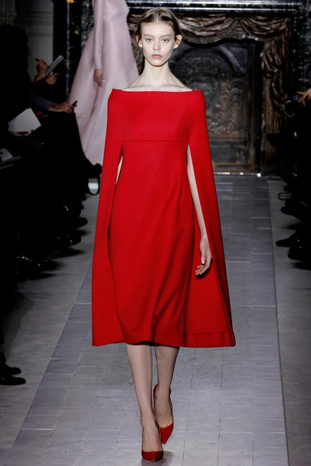 valentino-spring-2013-couture-red-cape-dress.jpg 620×930 pixels