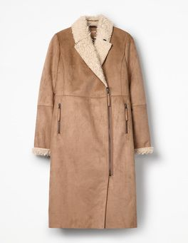Faux Shearling Coat Boden Coats And Jackets Pinterest Faux