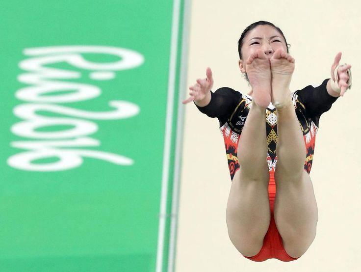 【リオ五輪】村上自信「いい感じ」 体操女子が会場練習