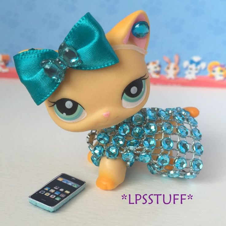 Littlest Pet Shop LPS Clothes Accessories Custom Outfit Lot *CAT NOT INCLUDED* #Handmade