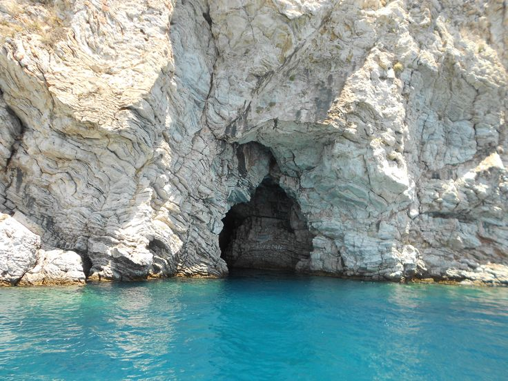 Marmaris - Turkey, literally a boat ride from my aunts house. We went swimming in this cave!