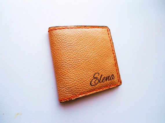Women's wallet leather wallet woman leather wallet by LaserDance
