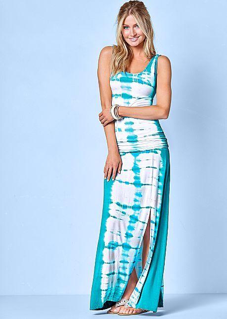 Tie Dye Maxi Dress    VENUS