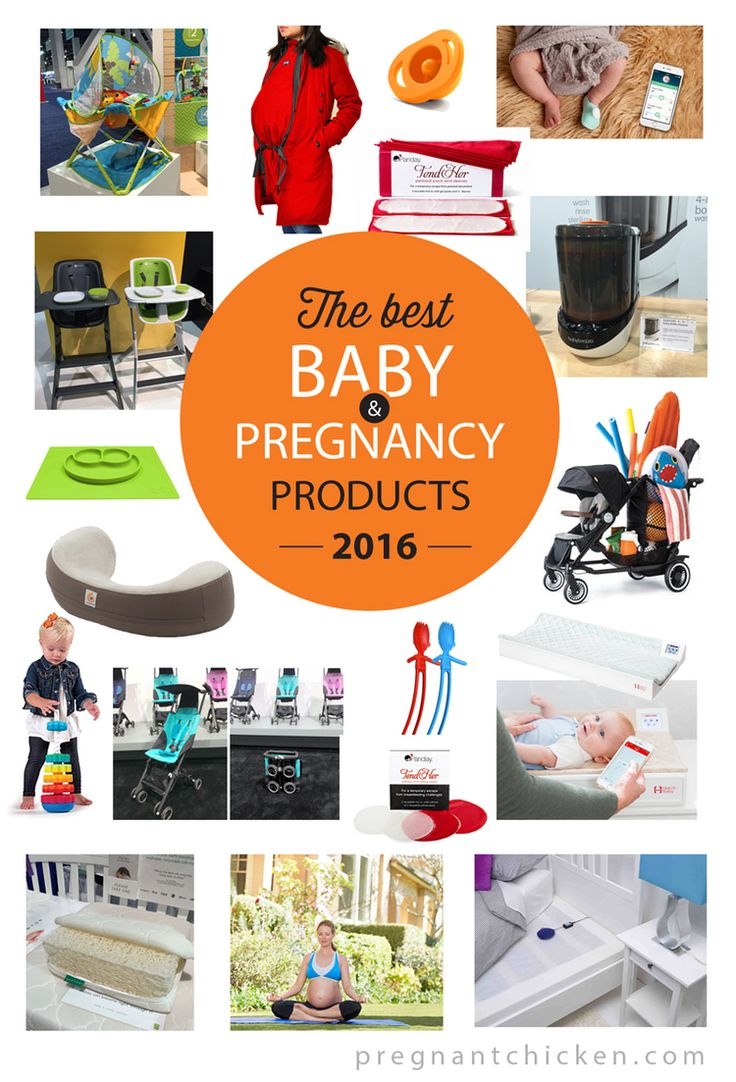 A sneak peek at the best baby and pregnancy products for 2016. From padsicles to pockit strollers – some of this gear will blow your mind.