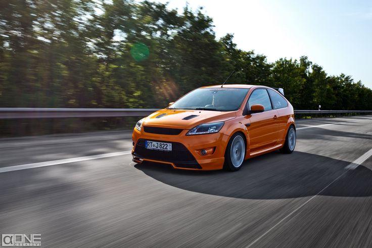 #Ford #Focus #ST Electric Orange mk2