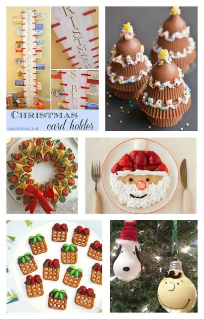 Fun Finds Friday with Christmas Fun Food & DIY Craft Ideas! - Kitchen Fun With My 3 Sons