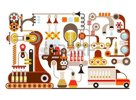 フロー図 イラスト 工場 - Google 検索