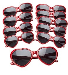 heart shaped sunglasses for kids #valentines