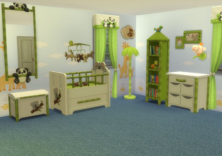 Lana CC Finds TS3 Nursery's EA Store Conversion Sets