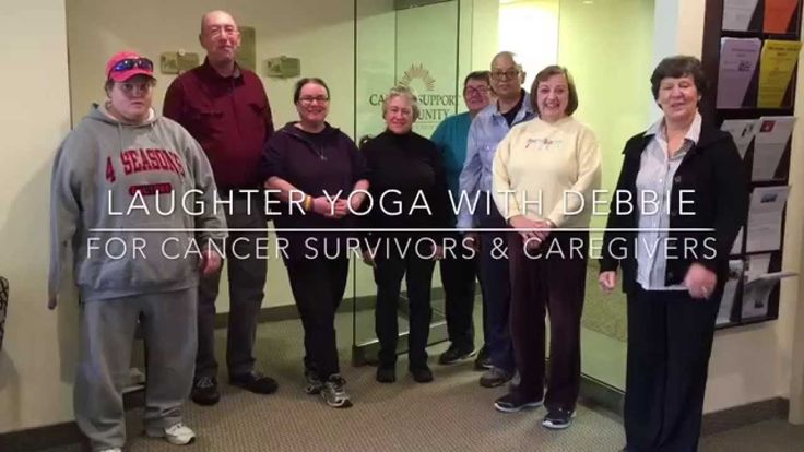 Laughter Yoga with Debbie Lyn Toomey at the Cancer Support Community,