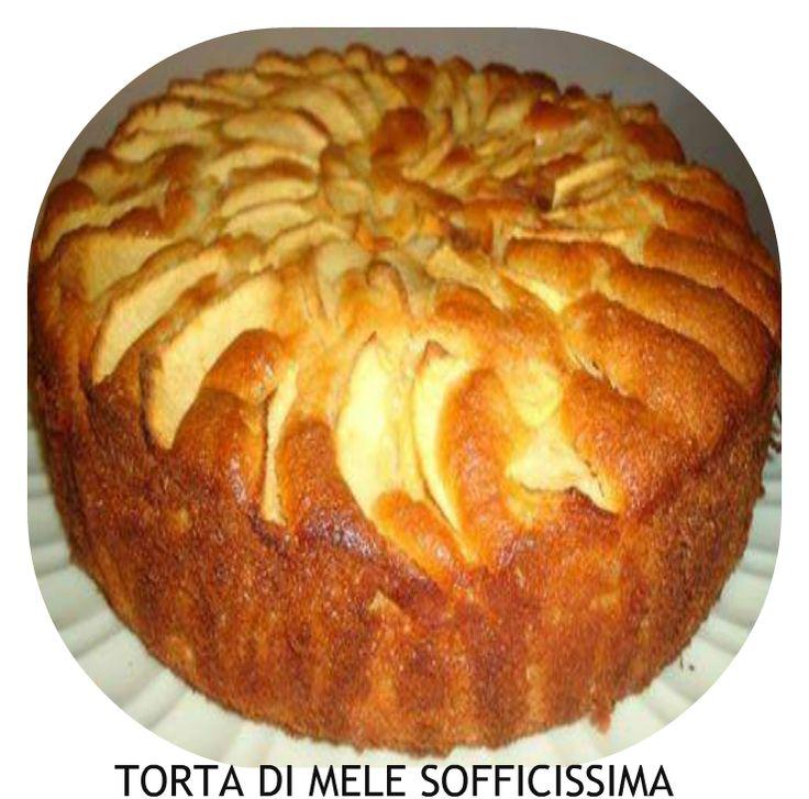 Ingredienti: 300 gr farina 00 300 gr zucchero 3 uova 3 mele 1 bicchiere ( di plastica) pieno di latte 100 gr di burro morbido oppure 80 g...