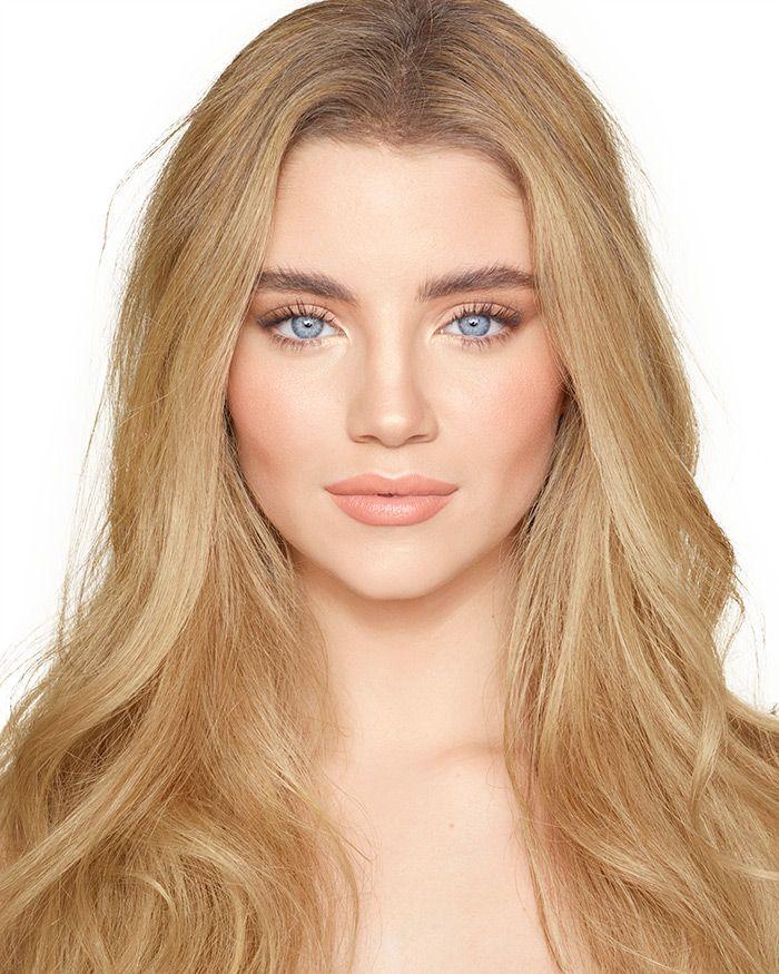 Blush Natural Makeup Look