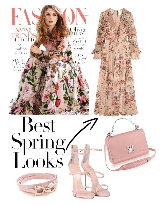 Spring Look by fashionila on Polyvore featuring polyvore, fashion, style, Zimmermann, Giuseppe Zanotti, Salvatore Ferragamo, H&M and clothing