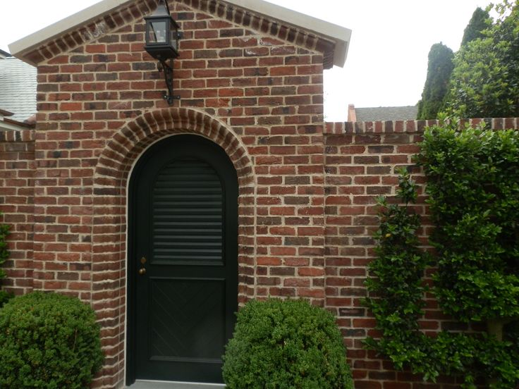 Archway in Nashville with Blend of Tryon and Charlestowne Handmade Brick.