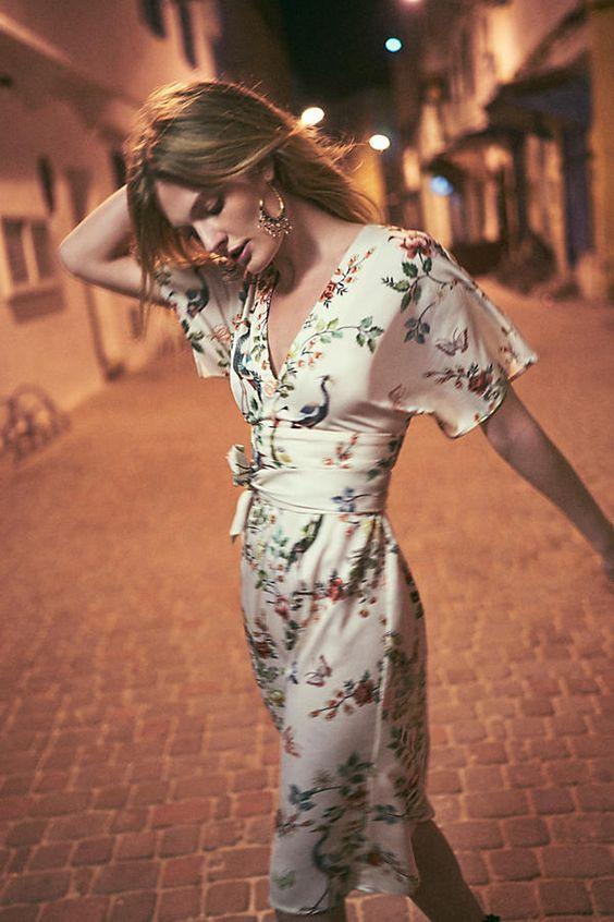 Women Fashion Midi Dress