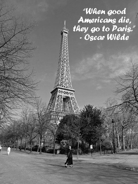 Quote by Oscar Wilde. #Quote #Paris | Eiffel tower ...