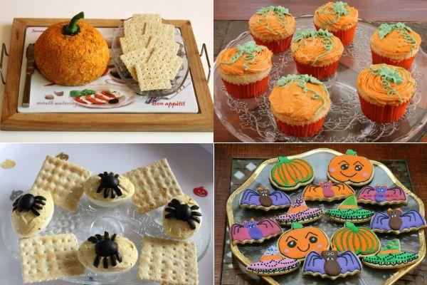 #Хэллоуин #рецепты #готовим_дома Рецепты на Хэллоуин просты в исполнении и соответствуют теме праздника. Сырная закуска, фаршированные яйца, печенье на Хэллоуин и лучший рецепт кексов.