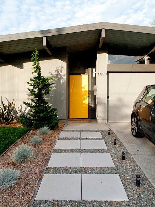 "EICHLER HOMES: Hunter & Casie's ""Redneck Modern"" Eichler Home. 10/13/2012 via @Apartment Therapy"