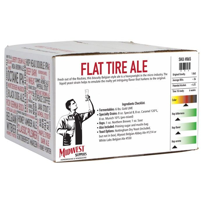 Tasting the Flat Tire Ale #homebrew tonight and comparing it to #NewBelgium #FatTire.  Can't wait to see how it turns out