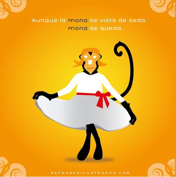 Refranes ilustrados. http://www.enjoyspanishonskype.com/aprende-espanol-on-line/refranes-ilustrados/