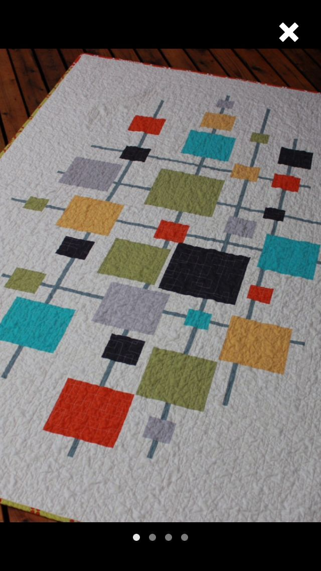 25+ best ideas about Vintage modern quilts on Pinterest | Chenille ...