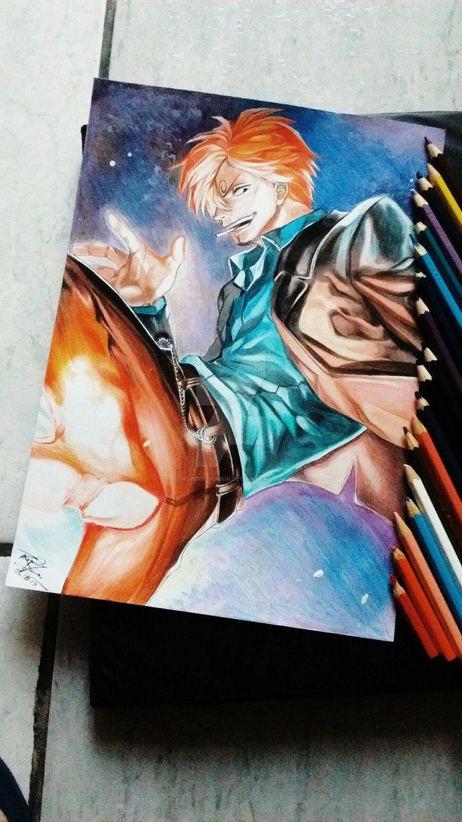 Sanji - One Piece by Robert-Sennin on DeviantArt