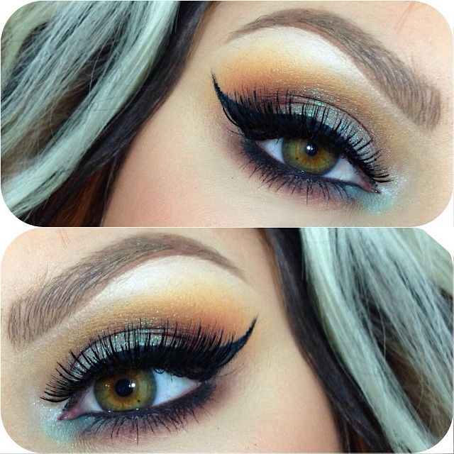 Today's eyes! Used @anastasiabeverlyhills Dip Brow in auburn on my lid as a base, with... | Use Instagram online! Websta is the Best Instagram Web Viewer!