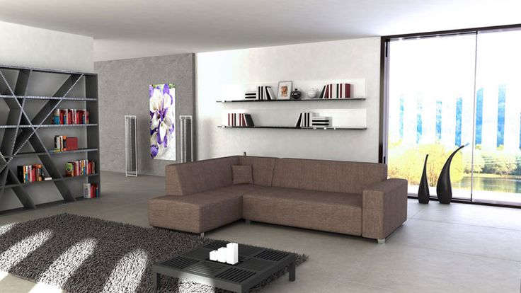 73 best ideas about minimalismo en salones muebles de for Sofa cama 135 ancho
