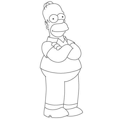 How to Draw Homer Simpson | Fun Drawing Lessons for Kids & Adults