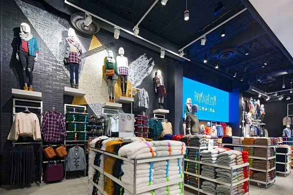 Transparent LED displays and surround sound for new Madrid Primark store - Retail Design World