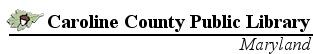 Caroline County Public Library Electronic Databases