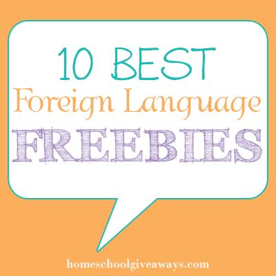 10 Best Foreign Language Freebies