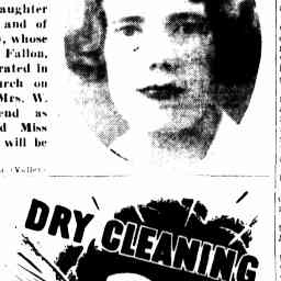 "05 Dec 1937 - The Courier Mail article ""A December Wedding"" re wedding of Doris Bryett (Alfred Bryett's sister) - with Elsie Ferris (who later married Alfred) as brides maid. Elsie Ferris - Craig's grandmother."