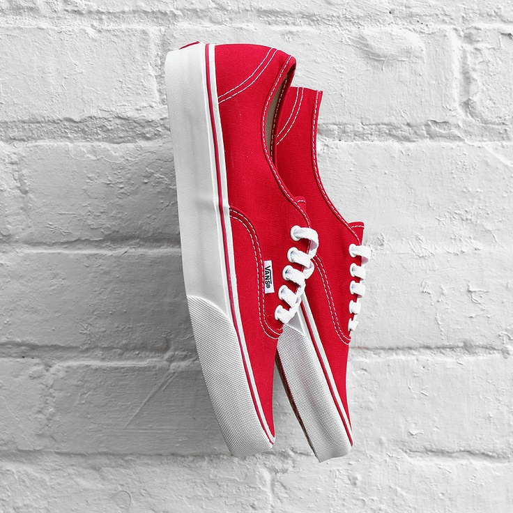 Vans 'Authentic' - Red