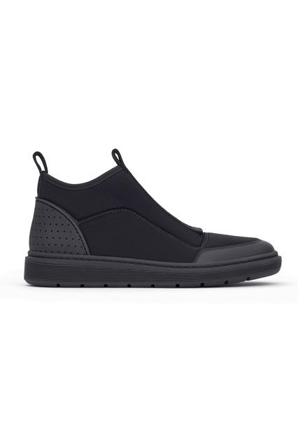 The ENTIRE Alexander Wang For H&M Collection — Right Here! #refinery29  http://www.refinery29.com/2014/10/76326/alexander-wang-hm-entire-collection-pictures#slide67  Alexander Wang for H&M Men's sneaker, $149, available on November 6 at H&M.