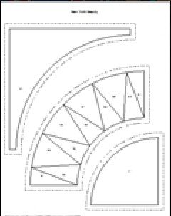 Paper Piecing Patterns Free Printables | New York Beauty - Paper/Foundation Piecing