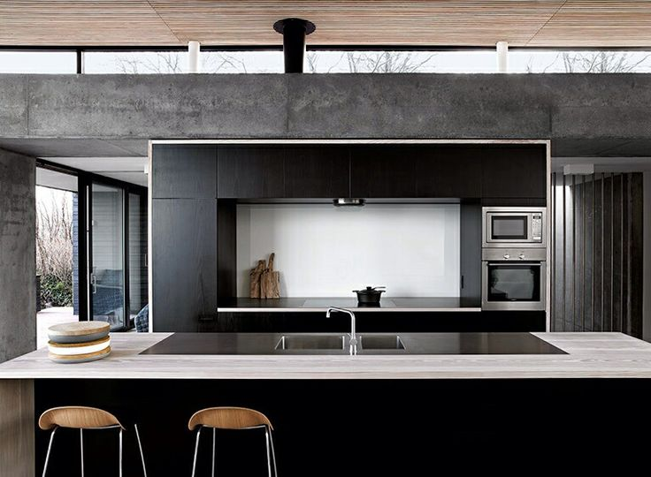 The Black Kitchen Home Decor Interior Design Inspiration Modern Kitchen Design Pinterest