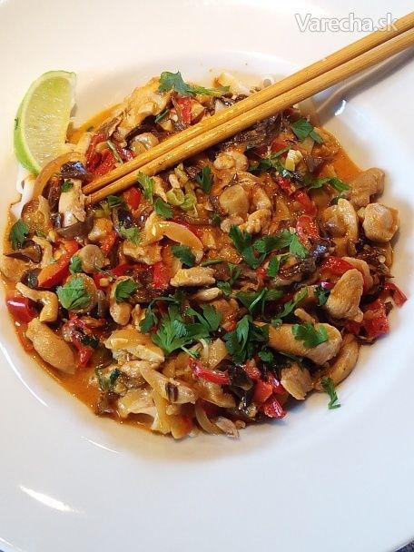 Thajské kuracie červené karí