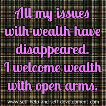 Wealth affirmation for releasing all issues with w…