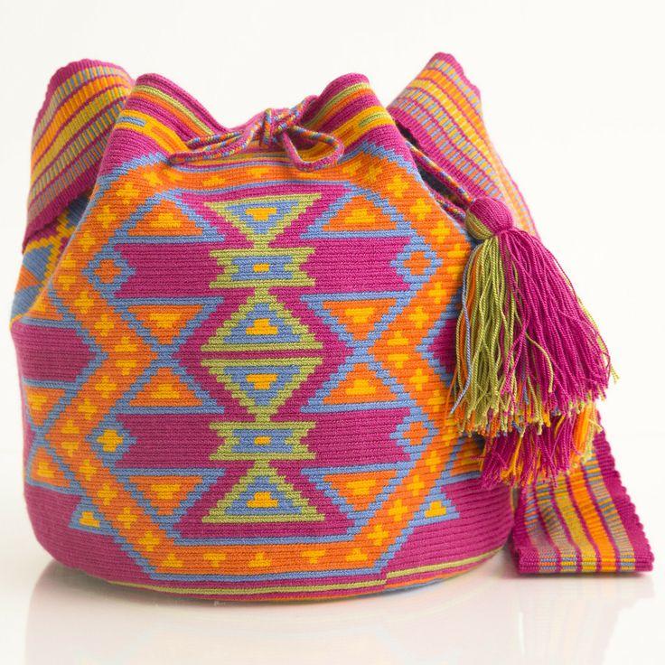 Hermosa Wayuu Mochila | WAYUU TRIBE – WAYUU TRIBE | Handmade Bohemian Bags starting at $118.00 www.wayuutribe.com